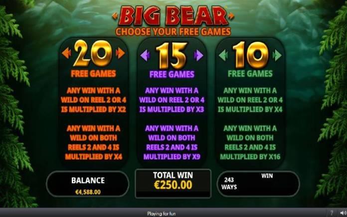 Besplatni Spinovi, Online Casino Bonus, Big Bear