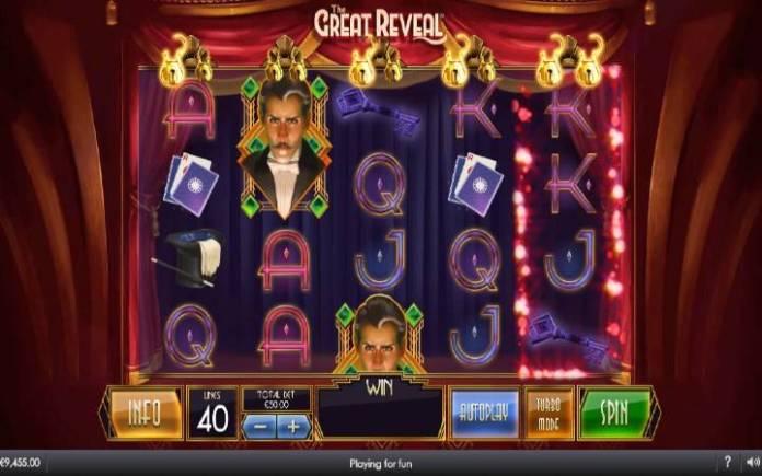 The Great Reveal, Online Casino Bonus, Džokeri