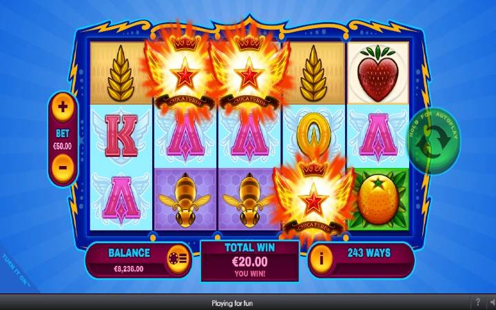 Scatter, Online Casino Bonus