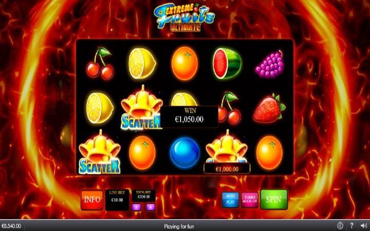 Scatter, zlatno zvono, Online Casino Bonus, Extreme Fruits Ultimate