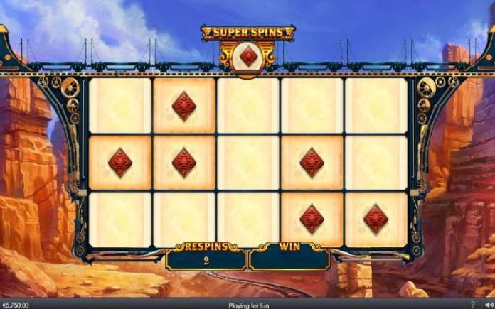 Super Spins, Online Casino Bonus, Bonus Train Bandits