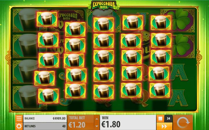 Leprechauns Hills, Quickspin, Playtech, Online Casino Bonus