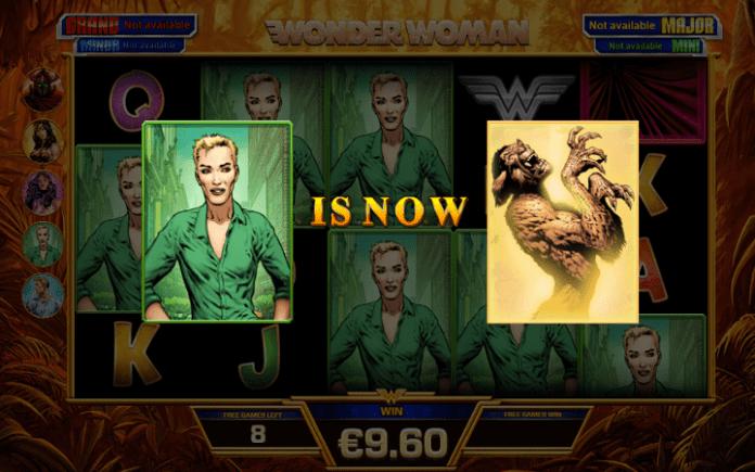 Wonder Woman, Playtech, Online Casino Bonus