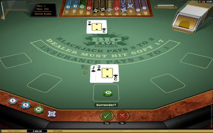 Microgaming, Online Casino Bonus, Big 5 Blackjack Gold