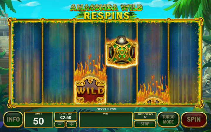 Anaconda Wild, Playtech, Online Casino Bonus