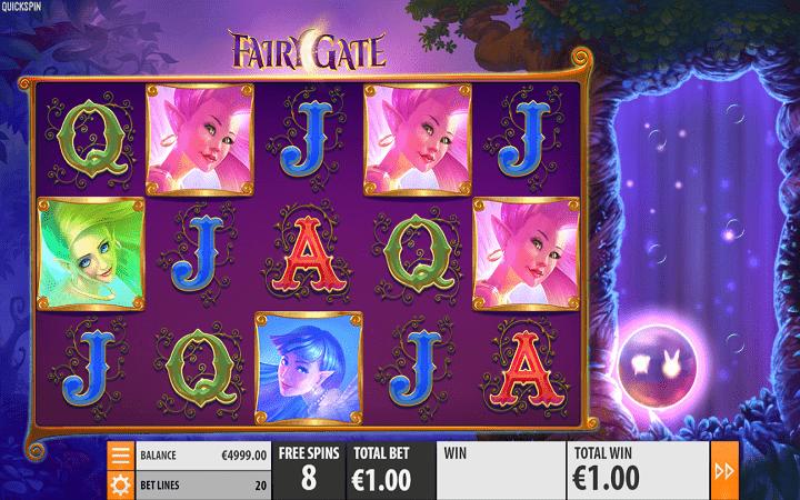Fairy Gate, Quickspin, Playtech, Online Casino Bonus