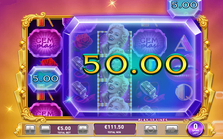 Marylin Monroe, Playtech, Online Casino Bonus
