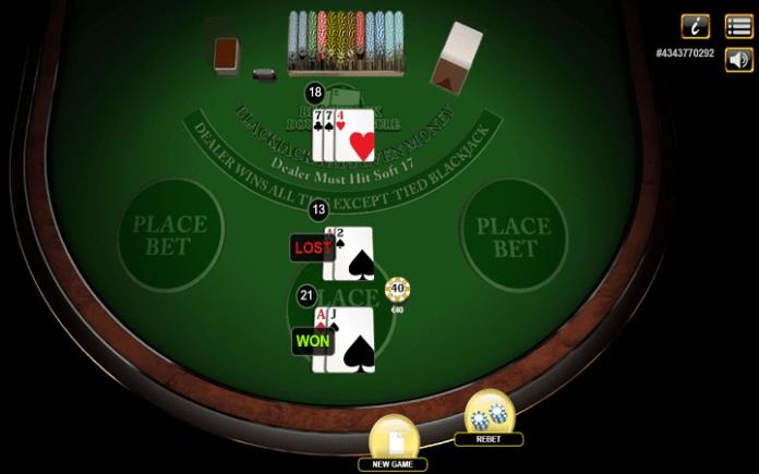 Blackjack Double Exposure 3 Hand, Habanero, Online Casino Bonus