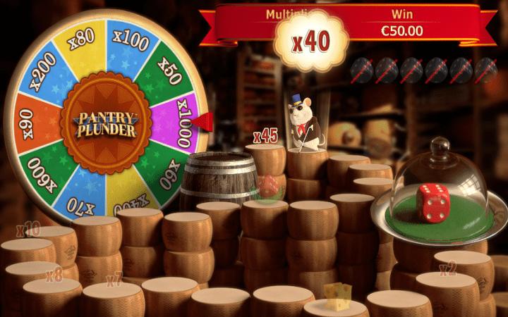 Pantry Plunder, Playtech, Online Casino Bonus