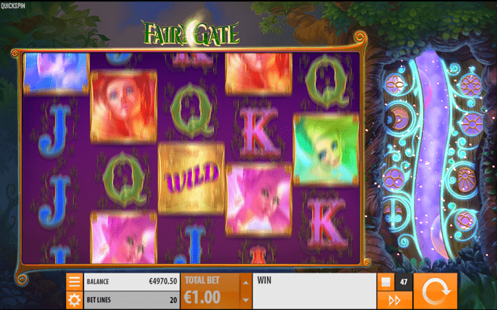 Fairy Gate, Quickspin, Playtech, Online Casino Bonus