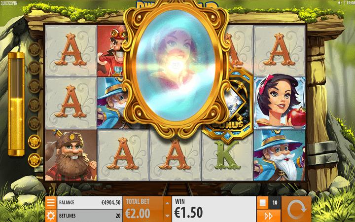 Dwarfs Gone Wild, Quickspin, Playtech, Online Casino Bonus