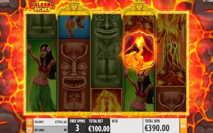 Besplatni Spinovi, Online Casino Bonus, Volcano Riches