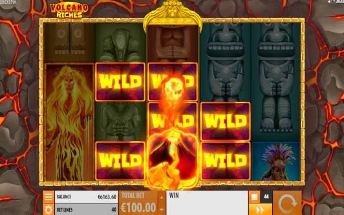 Volcano Wild, Online Casino Bonus, Volcano Riches