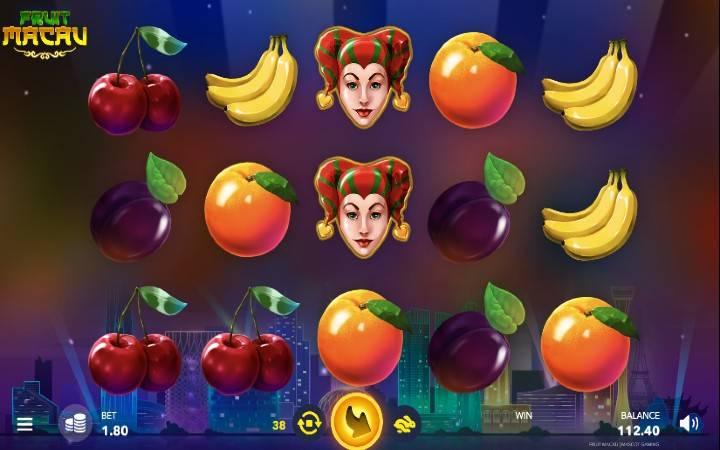 Fruit Macau, Mascot, Online Casino Bonus