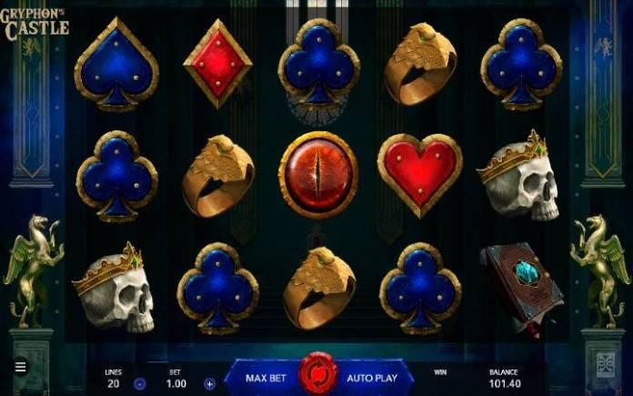 Gryphons Castle, Online Casino Bonus