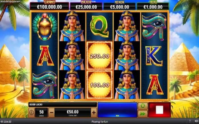 Fireblaze: Pharaohs Daughter, Online Casino Bonus, Playtech