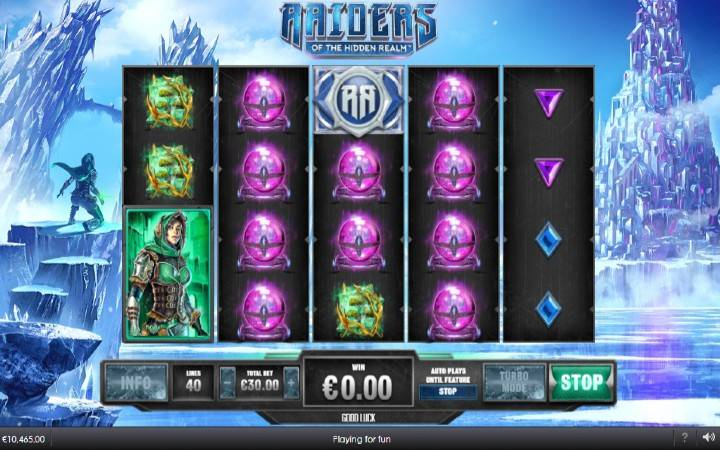 Raiders of the Hidden Realm, Online Casino Bonus