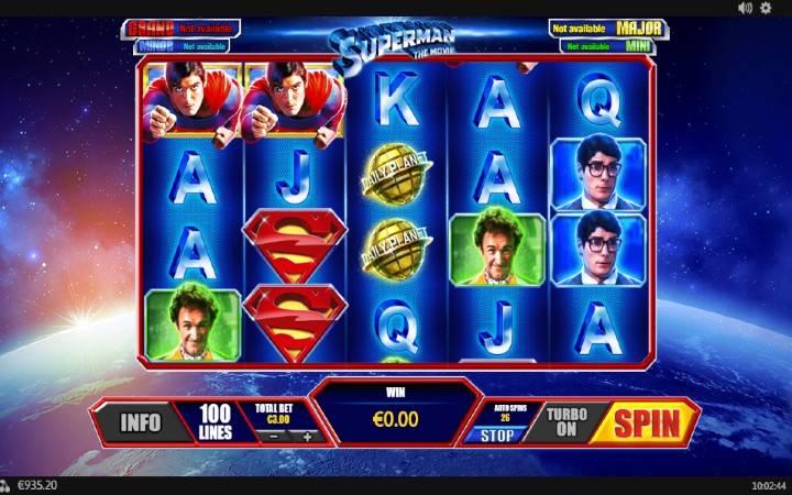 Superman, Playtech, Online Casino Bonus