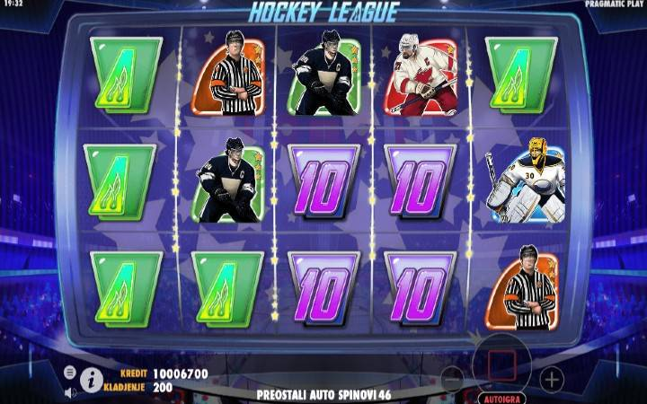 Hockey League, Online Casino Bonus, Pragmatic