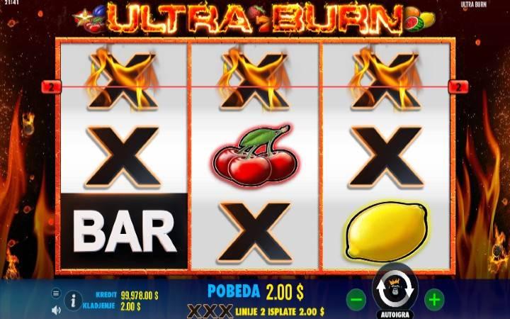 Online Casino Bonus, Kockanje, Ultra Burn