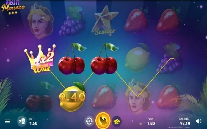 Džoker multiplikator, Fruit Monaco, Online Casino Bonus