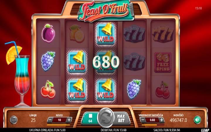 Džoker, Online Casino Bonus