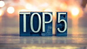 Top 5 online casino slotova