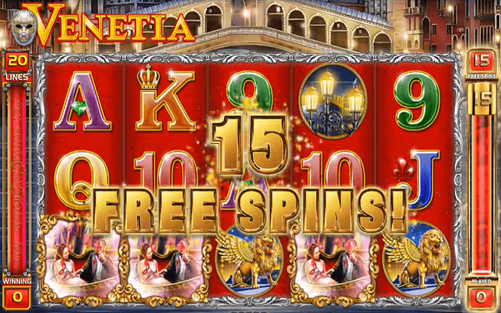 Venetia, GameArt, Online Casino Bonus