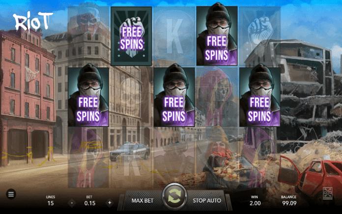 Riot, Mascot, Online Casino Bonus