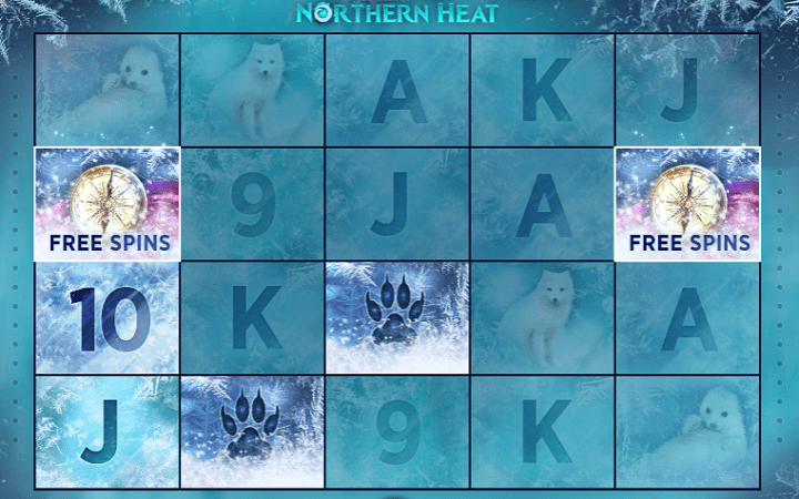 Northern Heat, Mascot, Online Casino Bonus