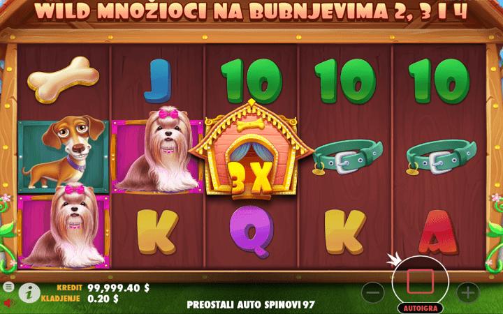 The Dog House, Playtech, Online Casino Bonus