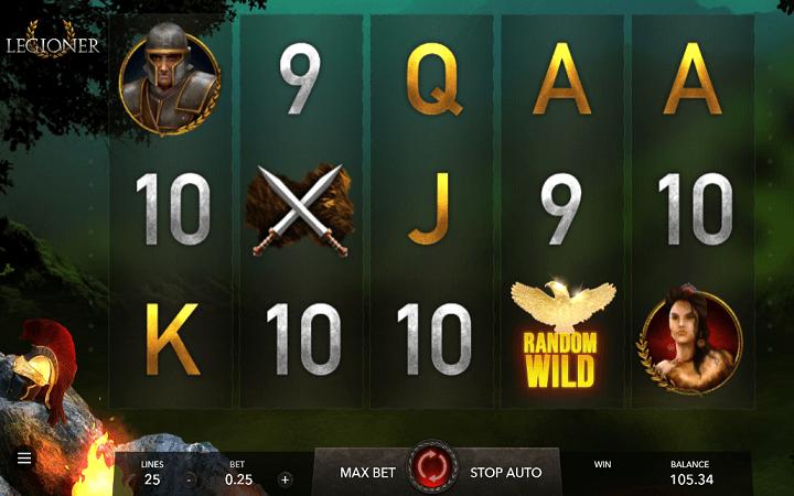 Legioner, GameArt, Online Casino Bonus