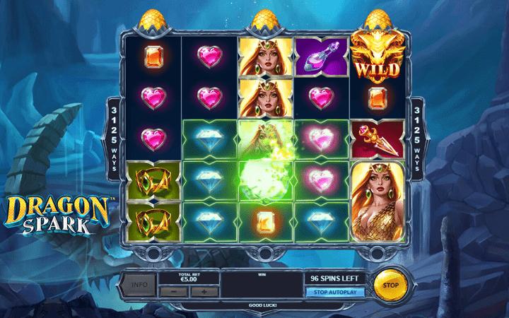 Dragon Spark, Playtech, Online Casino Bonus, kazino slot