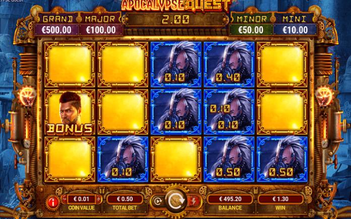 Apocalypse Quest, GameArt, Online Casino Bonus