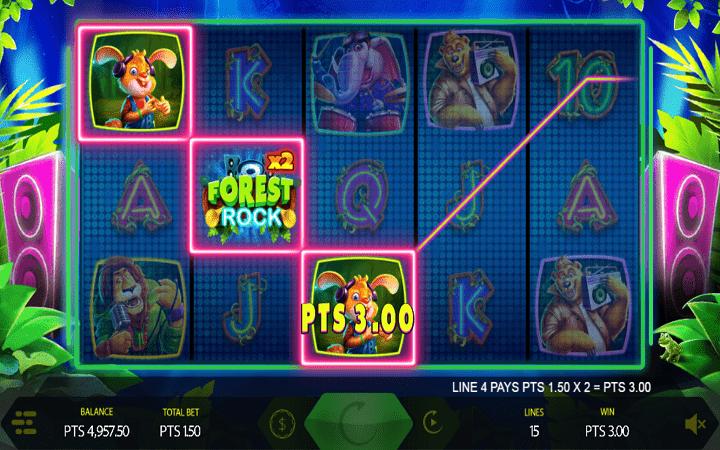 Forest Rock, Expanse Studios, Online Casino Bonus