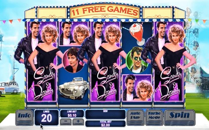 Grease, Playtech, Online Casino Bonus