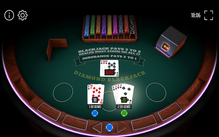 Diamond Blackjack, Expanse Studios, Online Casino Bonus