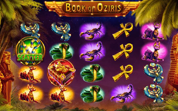 Book of Oziris, GameArt, Online Casino Bonus