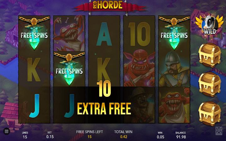 Red Horde, GameArt, Online Casino Bonus