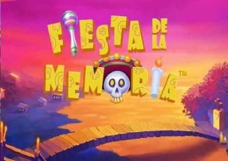 Fiesta De La Memoria – festival kazino bonusa!