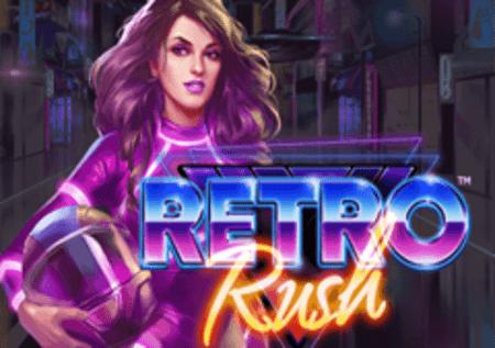 Retro Rush – osvojite bonuse sa množiteljima u slotu!