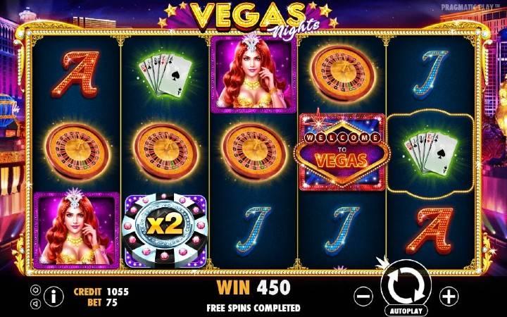 Vegas Nights, Online Casino Bonus, Kockanje