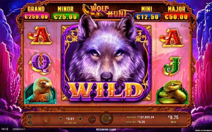 Wolf Hunt, Online Casino BOnus