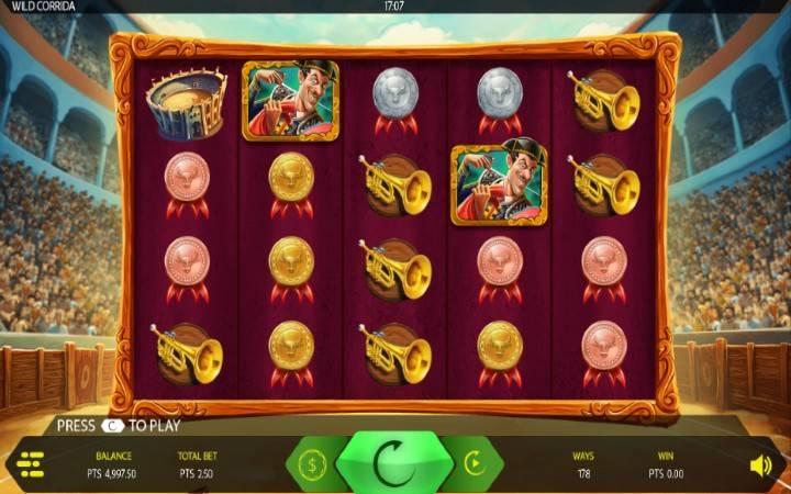 Bonus Casino, Wild Corrida