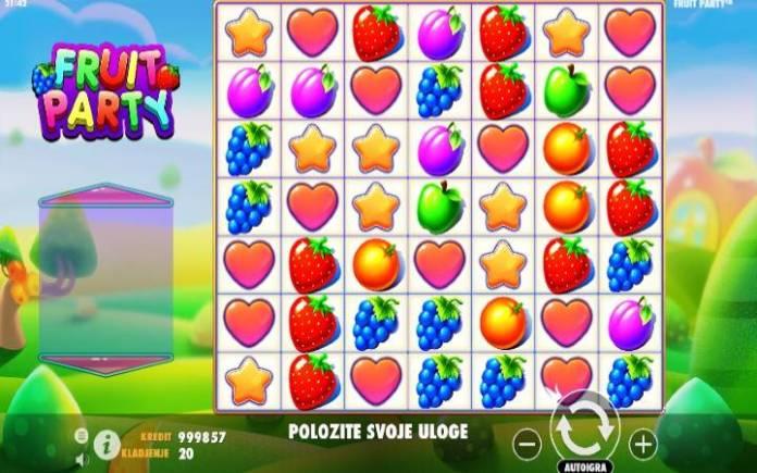 Fruit Party, Online Casino Bonus