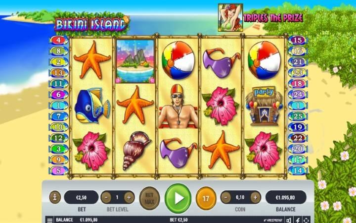 Bikini Island, Online Casino Bonus