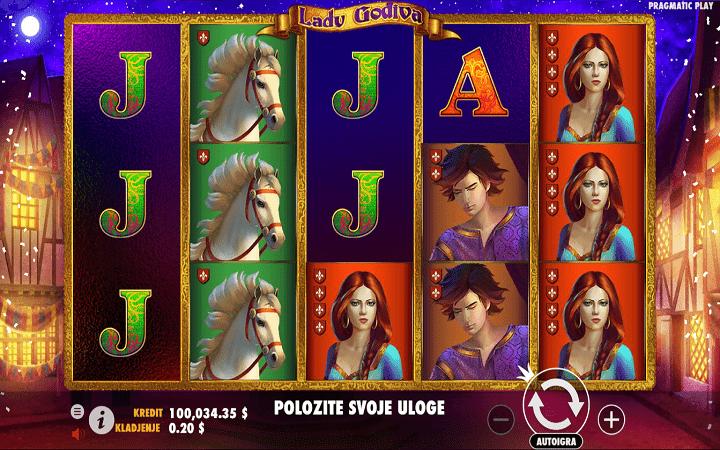Lady Godiva, Pragmatic Play, Online Casino Bonus