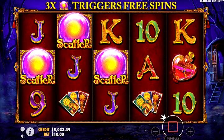 Madame Destiny, Pragmatic Play, Online Casino Bonus