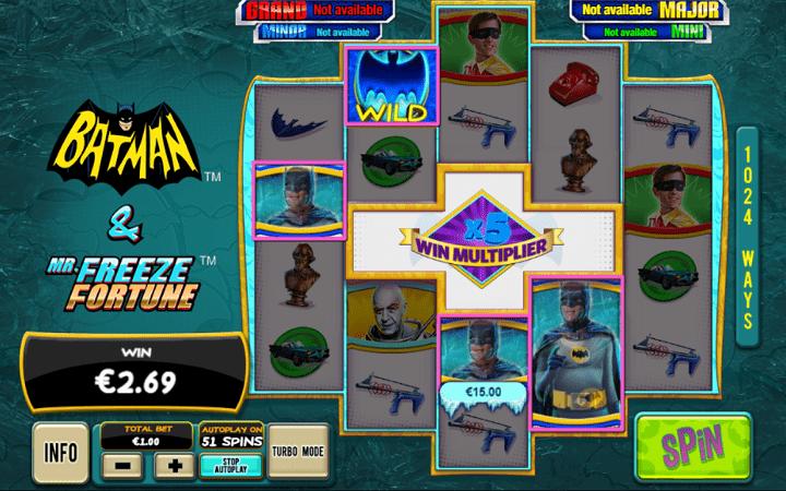 Batman and Mr Freeze Fortune