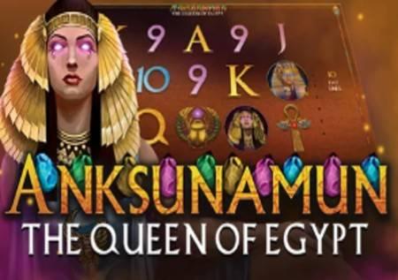 Anksunamun the Queen of Egypt kazino kraljica